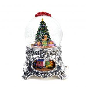 christmas snow globe au