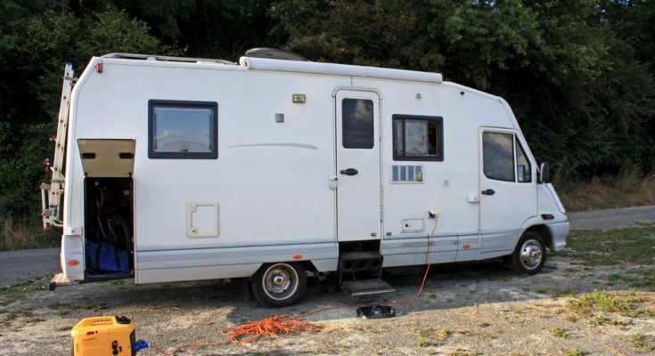 equipments of the RV car